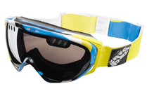 ixs Combat Pathfinder Goggles blauw-geel